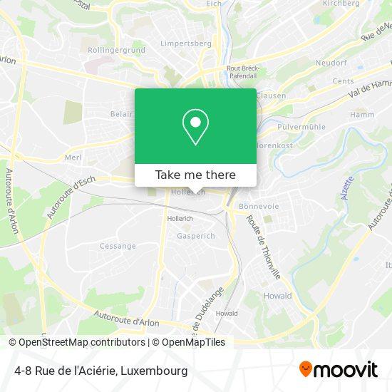 4-8 Rue de l'Aciérie map