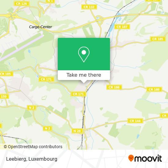 Leebierg map