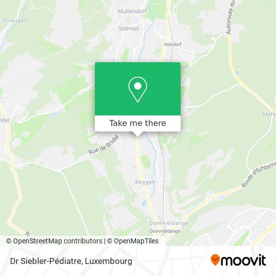 Dr Siebler-Pédiatre map