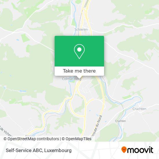 Self-Service ABC map
