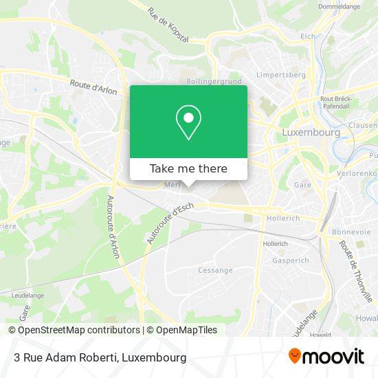 3 Rue Adam Roberti map