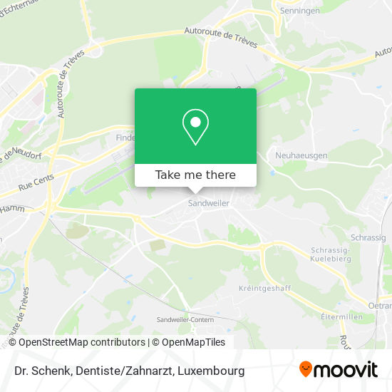 Dr. Schenk, Dentiste/Zahnarzt map