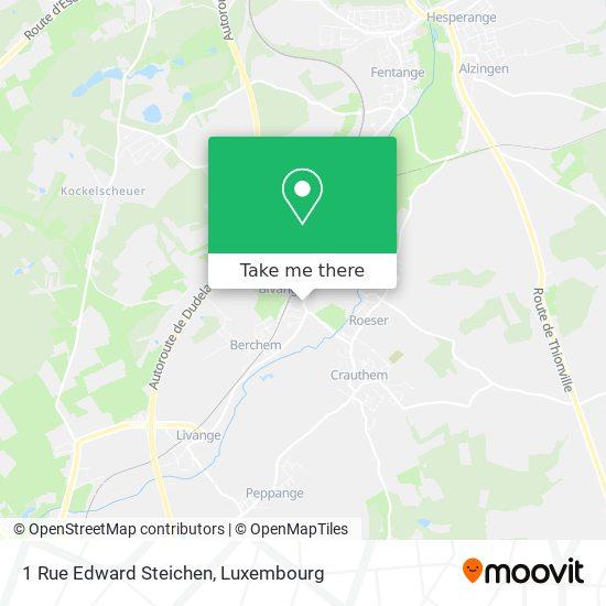1 Rue Edward Steichen map