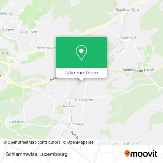 Schlammwiss map