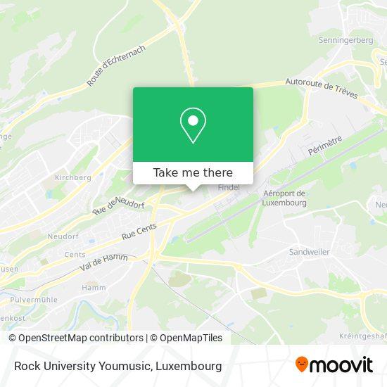 Rock University Youmusic map