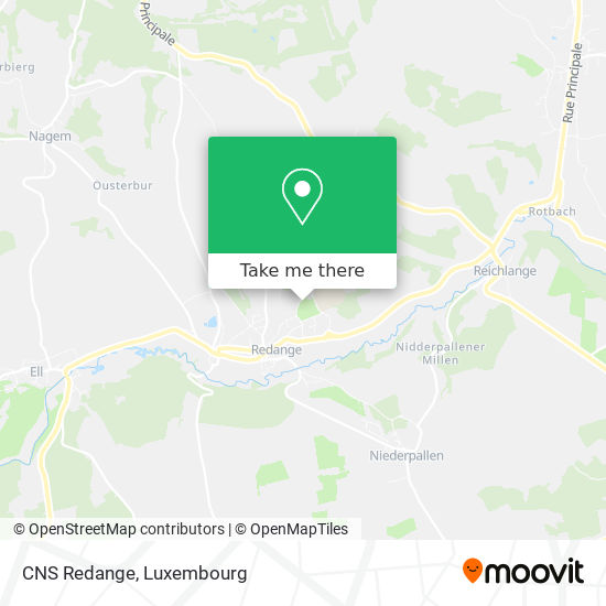 CNS Redange map