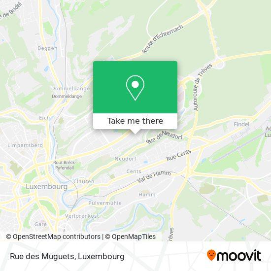 Rue des Muguets map