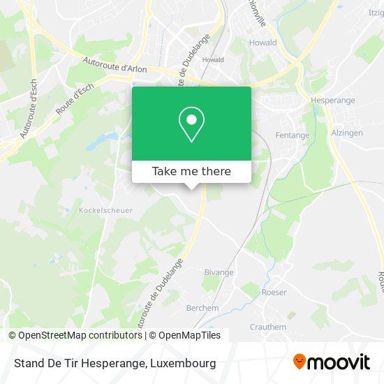 Stand De Tir Hesperange map