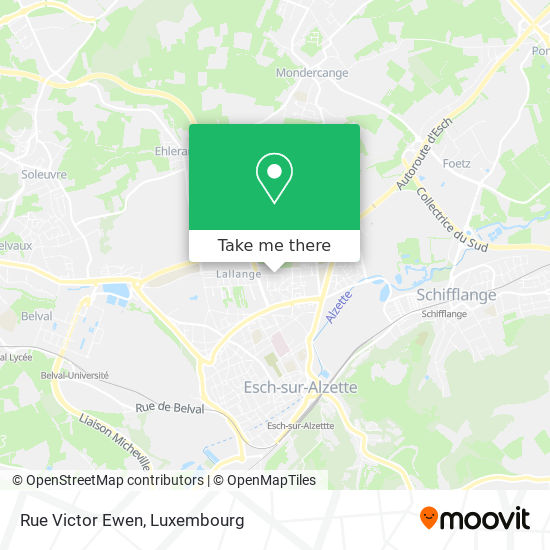 Rue Victor Ewen map