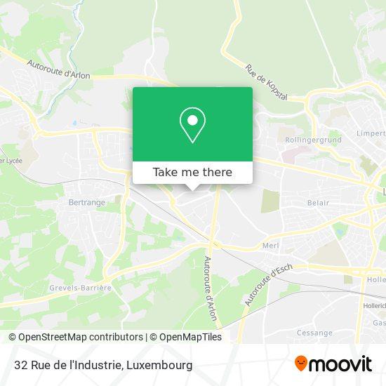 32 Rue de l'Industrie map