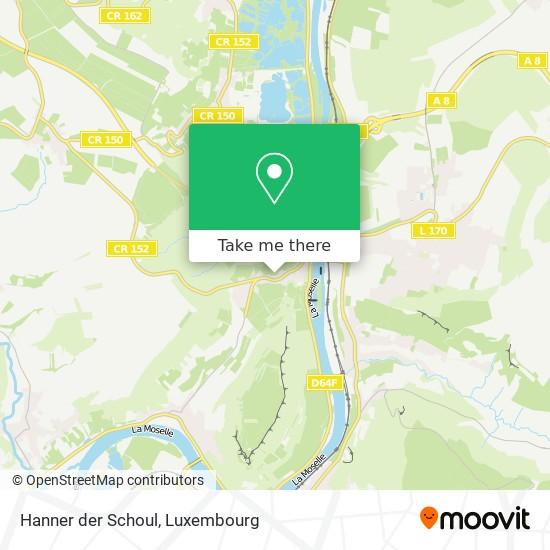 Hanner der Schoul map