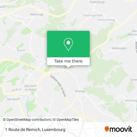 1 Route de Remich map