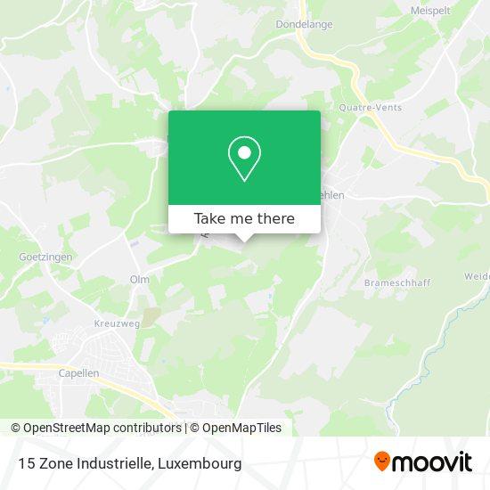 15 Zone Industrielle map