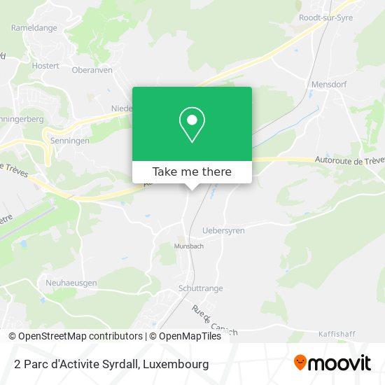 2 Parc d'Activite Syrdall map