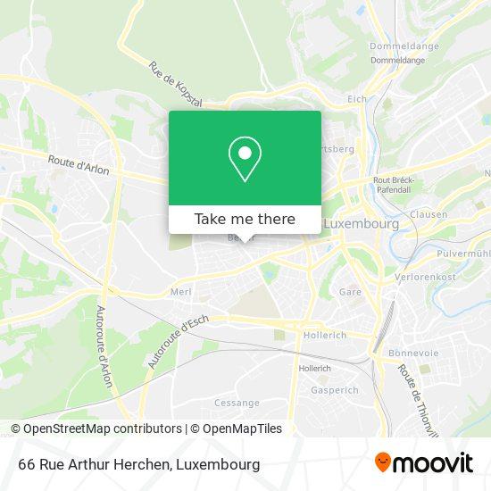 66 Rue Arthur Herchen map