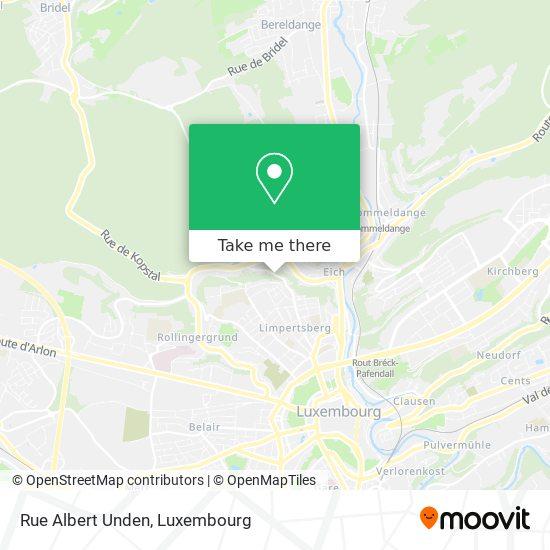 Rue Albert Unden map