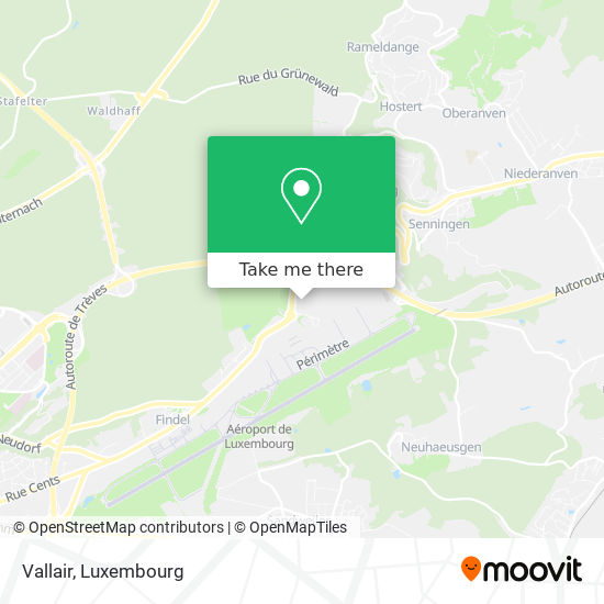 Vallair map