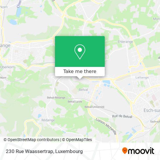 230 Rue Waassertrap map