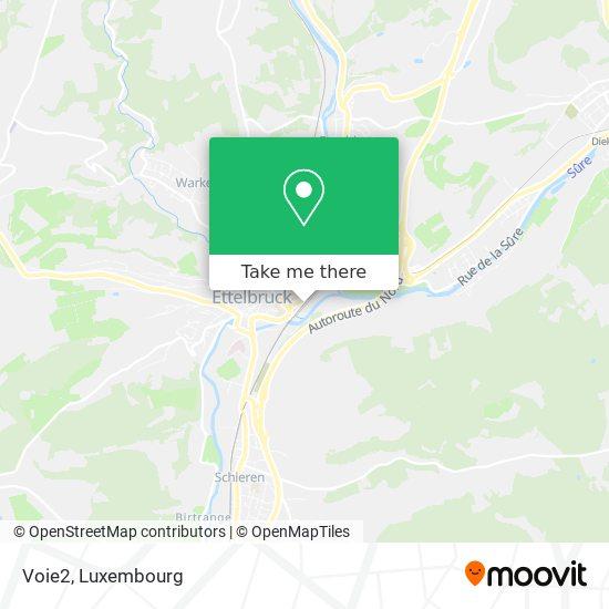 Voie2 map