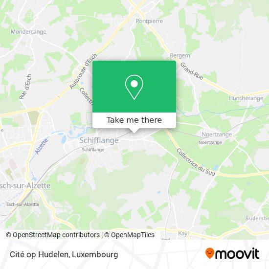 Cité op Hudelen map