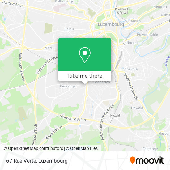 67 Rue Verte map