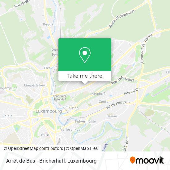 Arrêt de Bus - Bricherhaff map