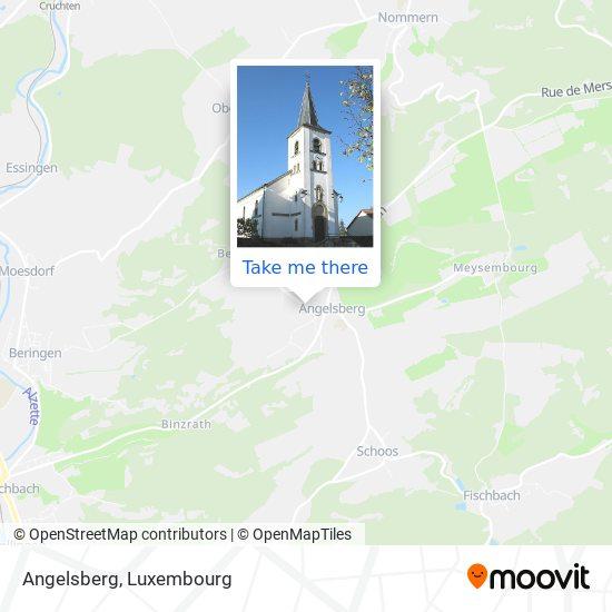 Angelsberg map