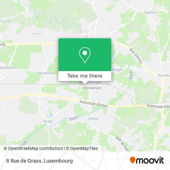 8 Rue de Grass map