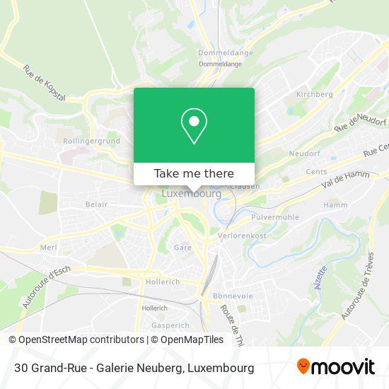 30 Grand-Rue - Galerie Neuberg map