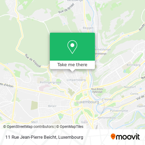 11 Rue Jean-Pierre Beicht map