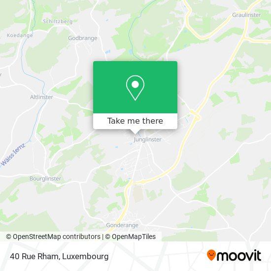 40 Rue Rham map
