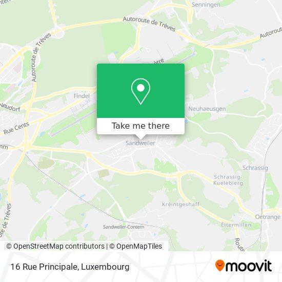 16 Rue Principale map