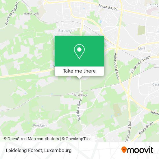 Leideleng Forest map