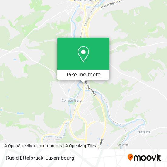 Rue d'Ettelbruck map