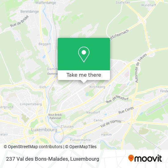 237 Val des Bons-Malades map