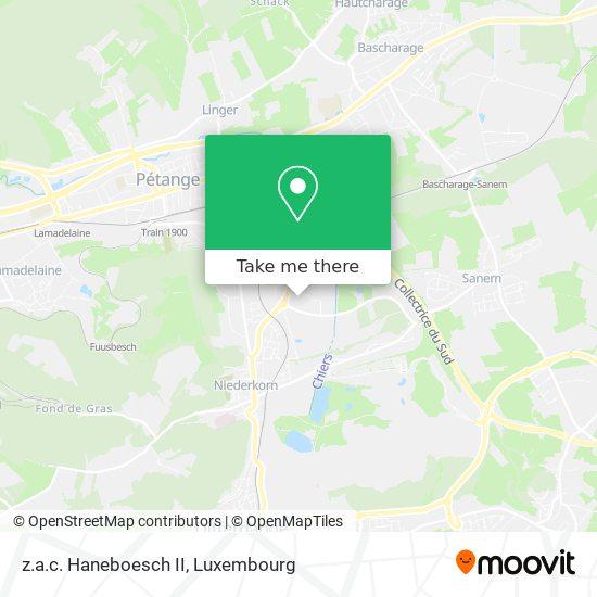 z.a.c. Haneboesch II map