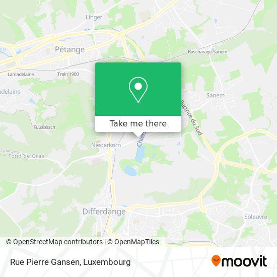 Rue Pierre Gansen map