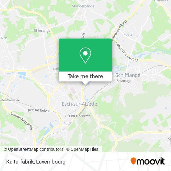 Kulturfabrik map