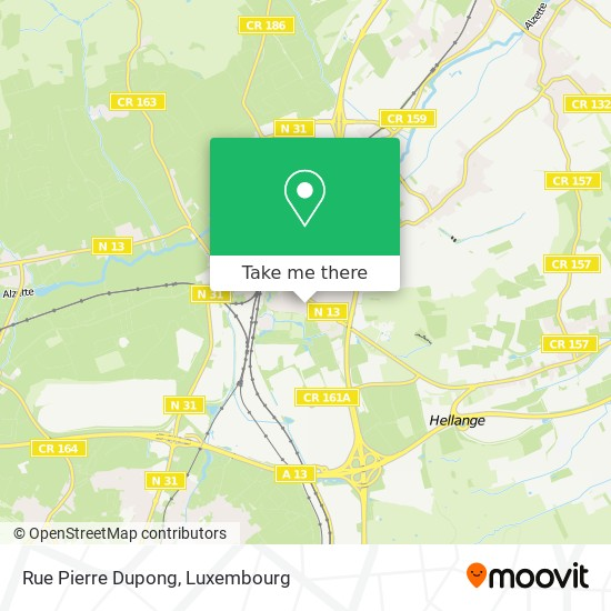 Rue Pierre Dupong map