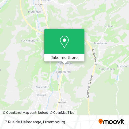 7 Rue de Helmdange map