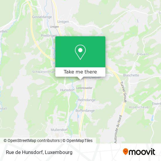 Rue de Hunsdorf map