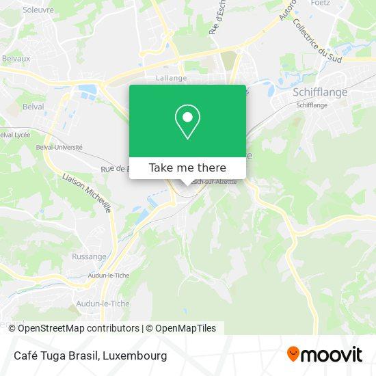 Café Tuga Brasil map