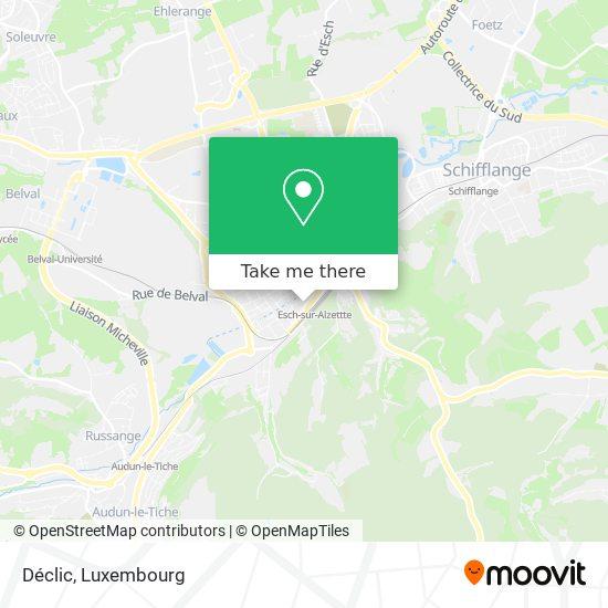 Déclic, 11, Avenue de la Gare 4131 Esch-sur-Alzette map
