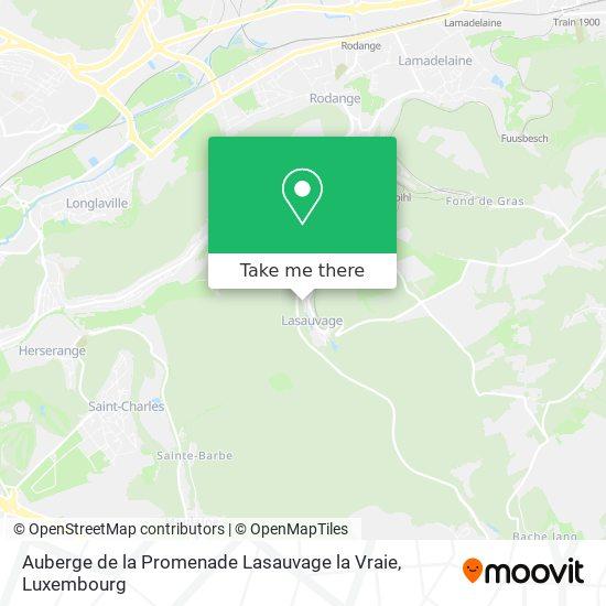 Auberge de la Promenade Lasauvage la Vraie, 81, Place de Saintignon 4698 Differdange map