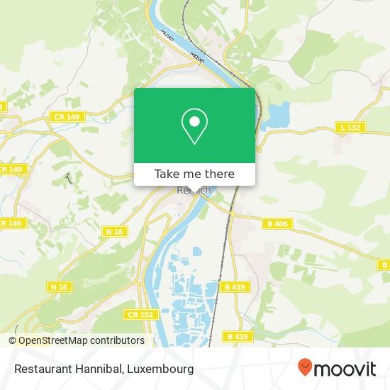 Restaurant Hannibal, 14, Quai de la Moselle 5553 Remich map
