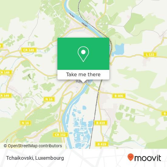 Tchaikovski, 14, Quai de la Moselle 5553 Remich map