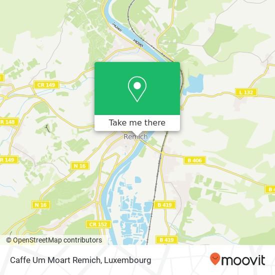 Caffe Um Moart Remich, 3, Place du Marché 5555 Remich map