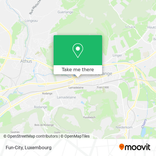 Fun-City map