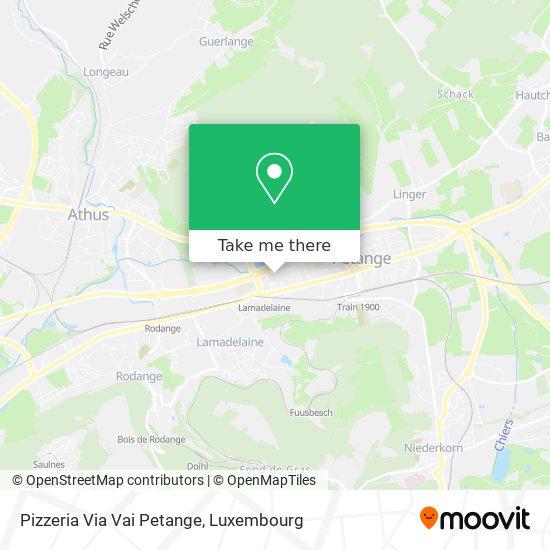 Pizzeria Via Vai Petange, 29, Rue Robert Krieps 4702 Pétange map
