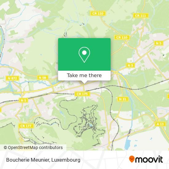 Boucherie Meunier, 8, Route de Luxembourg 4760 Pétange map